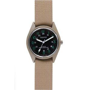 【送料無料】腕時計 クオーツカーキストラップrothco 4605 military swat quartz watch khaki strap
