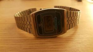 【送料無料】腕時計 ビンテージジュエル80s vintage interesting gents wrist watch juwel lcd made in taiwan
