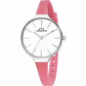 【送料無料】腕時計 クロノスターウォッチシリコーンピンクフープorologio donna r3751248524 chronostar sector tee watch silicone hoops rosa