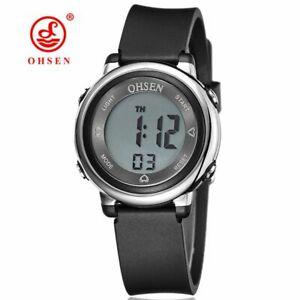 【送料無料】腕時計 ファッションデザインデジタルアルバートシリコfashion design ohsen digital horloge child kids wristwatch child girls silico