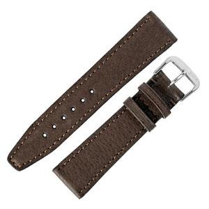 【送料無料】腕時計 モカリオスタバコレザーウォッチストラップrios1931 tobacco genuine pigskin leather watch strap in mocha