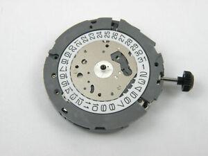 【送料無料】腕時計 クオーツムーブメントアラームクロノmiyota 0s80 quartz watch movement alarm chrono date 3