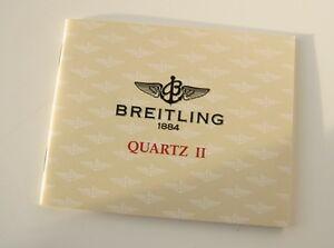 【送料無料】腕時計 ワイドブランオリジナルnotice breitling quartz ii blanc originale pour montres modles quartz