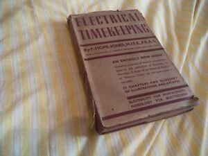 【送料無料】腕時計 ホープジョーンズelectrical timekeeping f hope jones scarce book 1943