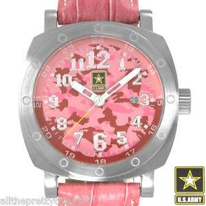【送料無料】腕時計 ブランドピンクbrand us army womens pink rapid fire watch