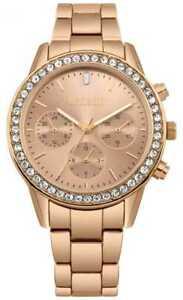【送料無料】腕時計 ガイドレディースローズゴールドステンレススチールウォッチmissguided womens rose gold stainless steel mg002rgm watch