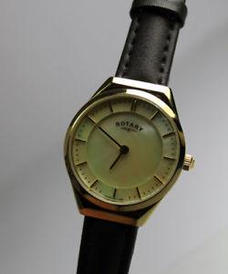 【送料無料】腕時計 ロータリーレディースポンドrotary ladies gold plated watch lb0259941