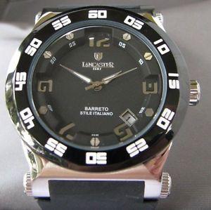 【送料無料】腕時計 イタリアレディースクロノドルlancaster made in italy ladies chrono date watch retail 660