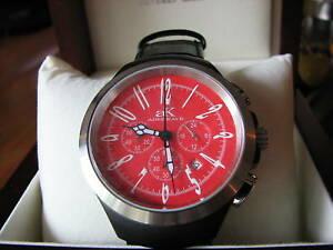 【送料無料】腕時計 ケイクロノグラフウォッチドルadee kaye chronograph date watch retail 44000