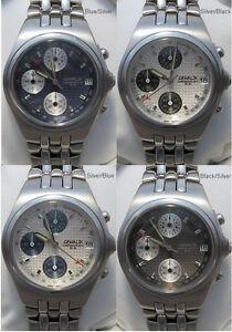 【送料無料】腕時計 メンズクロノグラフカスタムデザインクロノウォッチmens genaldi ss chronograph watch custom design chrono