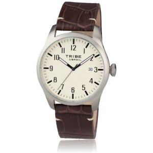 【送料無料】腕時計 クラシックウォッチorologio breil tribe classic elegance ew0197 pelle marrone watch numeri datario