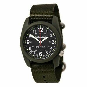 【送料無料】腕時計 メンズフィールドディフェンダーオリーブナイロン