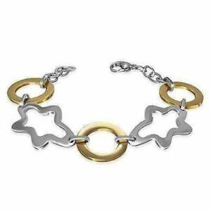 【送料無料】腕時計 デイドリームトーンステンレススチールkゴールドブレスレットdaydream two tone stainless steel and 18k gold bracelet