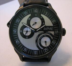 【送料無料】腕時計 シュタイナーメンズクオーツドルaugust steiner gentlemens quartz daydate watch 49500