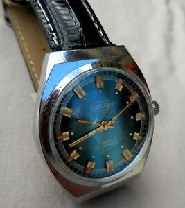 【送料無料】腕時計 アールデコmontre octo mixte mecanique dancienne generation, deco verticales,17 rbs,1970