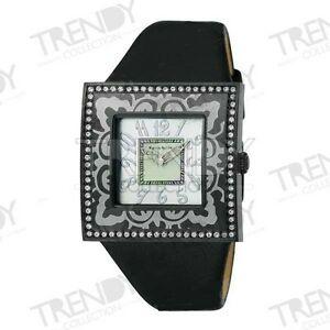 【送料無料】腕時計 ドナパリスヒルトンヌオーヴォペレドーナスワロフスキーウォッチorologio donna paris hilton mod138432799 pelle donna swarovski nuovo watch