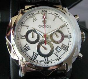【送料無料】腕時計 クロトンクロノグラフモデルcroton model cc311261bssl chronograph date watch