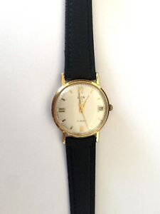 【送料無料】腕時計 ビンテージエルギンvintage elgin wind up classy gents wrist watch 17 jewels runs