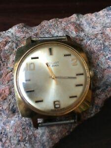 【送料無料】腕時計 ゴールドウォッチリストメンズビンテージソウォッチウォッチpoljot wrist mens 17 jewels gold watch au20 ussr watch vintage watch