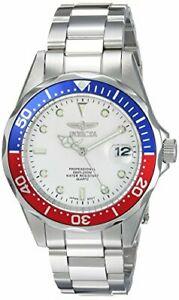 【送料無料】腕時計 メンズシルバースチールブレスレットケースinvicta mens 375mm silver steel bracelet amp; case flame fusion watch 8933