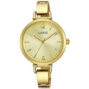 【送料無料】腕時計 ゴールドトーンスチールブレスレットケースクォーツ×lorus womens 32mm goldtone steel bracelet amp; case quartz watch rg294kx9
