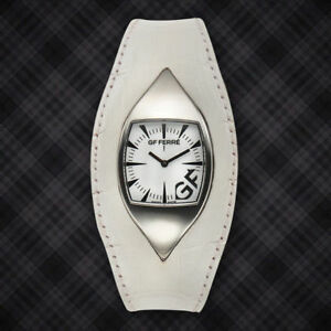 【送料無料】腕時計 レディースホワイトウォッチgf ferre eyeball ladies white watch