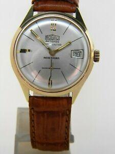 【送料無料】腕時計 ブレスレットコニャックヴィンテージキャリバーmontre bracelet rogau cognac gauthier vintage calibre fe 23366 avec date