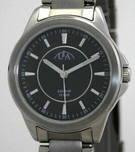【送料無料】腕時計 ラフルチタンサファイアクリスタルレディースバーユーロウォッチula volltitan saphirglas damenuhr 10 bar wr uvp 69,90 eur