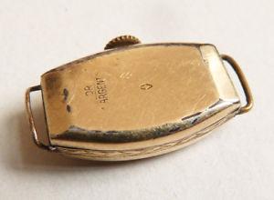 腕時計 アルジェントマッシフシルバーゴールドアールデコmontre de femme en or et argent massif  silver gold watch art deco vers 1925