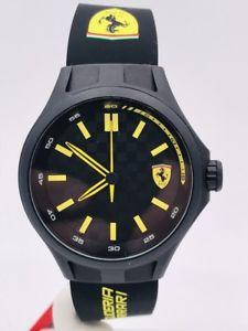 【送料無料】腕時計 オロロジオスクーデリアフェラーリシモヌオーヴォorologio scuderia ferrari sf0143 45mm acciaiogomma scontatissimo nuovo