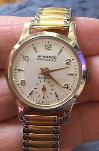 【送料無料】腕時計 ビンテージウィンザープリンセスジュネーブウォッチvintage windsor princess geneva watch