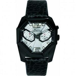 【送料無料】腕時計 クロノテッククールウォッチchronotech orologio uomo multifunzione ego rw0082 pelle vitello nero cool watch