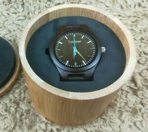 【送料無料】腕時計 ホークダークブラウンmens truwood hawk dark brown natural sandalwood allwood watch