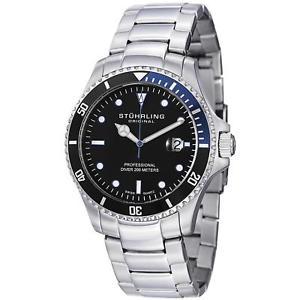 【送料無料】腕時計 レガッタエリートメンズミリクォーツgstuhrling regatta elite mens 42mm krysterna quartz date watch 326b331151