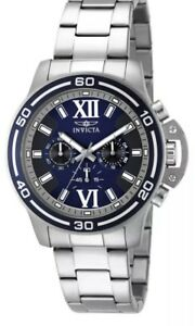 【送料無料】腕時計 メンズネイビーローマクロノグラフウォッチinvicta specialty 15057 mens navy blue roman numeral chronograph watch