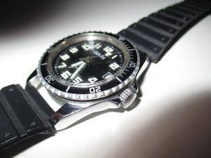 【送料無料】腕時計 ビンテージダイバーダイバーgene vintage taucheruhr diver date automatic 30 mm 70er jahre