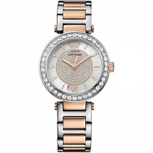 【送料無料】腕時計 ジューシークチュールレディース#トーンセットブレスレット**reduced** juicy couture 1901230 ladies039; two tone stone set bracelet watch