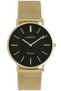 【送料無料】腕時計 レディースビンテージゴールドブラックウォッチ