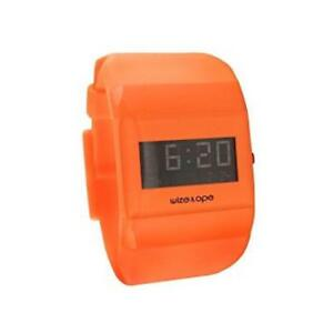 【送料無料】腕時計 アルソロテンポオレンジorologio wize wofluo4 al quarzo analogico solo tempo resina arancione