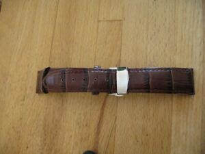 【送料無料】腕時計 ブレスレットアンティbracelet montre 20mm boucle dployante en cuir