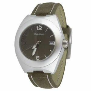【送料無料】腕時計 フィリップウォッチソロテンポカサヴェルデorologio solo tempo uomo philip watch r8251631025 cassa alluminio sta verde