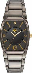 【送料無料】腕時計 アイオワエグゼクティブブラックメッキウォッチ