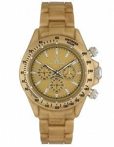 【送料無料】腕時計 クロノグラフメタリックゴールドウォッチウォッチtoy watch plasteramic chronograph metallic gold watch