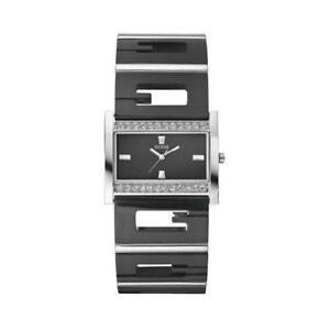 【送料無料】腕時計 オロロジオセンターネロguess orologio femminile w11097l2 brillantini acciaio nero originale cristalli