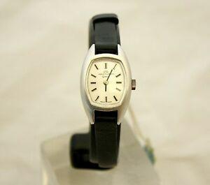 【送料無料】腕時計 オロロジオジャケジラールヴィンテージorologio vintage da donna jaquetgirard in acciaio