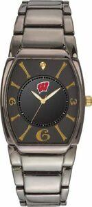 【送料無料】腕時計 ウィスコンシンエグゼクティブブラックメッキウォッチ