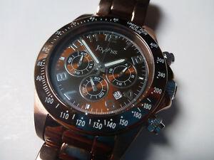 【送料無料】腕時計 クロノグラフウォッチダウンクラウンラグジュアリーネジwatch joysens montre 41mm quartz myota date chronographe screw down crown luxury