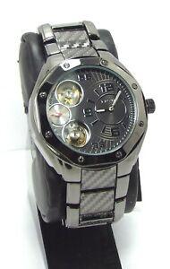 【送料無料】腕時計 ブラックトーンドレススポーツウォッチ
