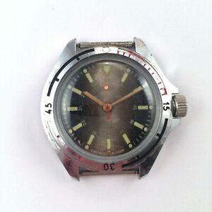 【送料無料】腕時計 ビンテージソボストークvintage soviet vostok watch navy vgc *us seller* 1400