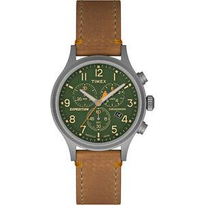 【送料無料】腕時計 スカウトクロノエクスペディションタングリーンtimex expedition scout chrono watch tangreen
